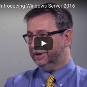 Windows Server 2016 trainingen